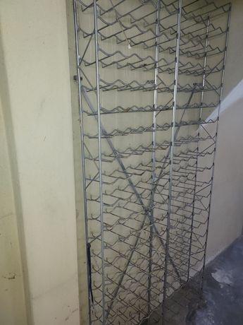 Garrafeira estante alumínio para 200 garrafas