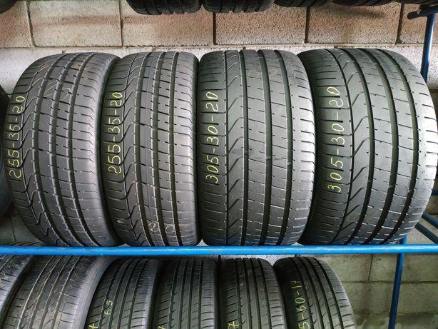 Різноширокі шини 255/35R20 i 305/30R20 PIRELLI