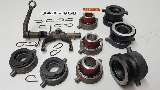 Подшипник выжимной ЛУАЗ ЗАЗ 968 заводской графитовый крутящийся