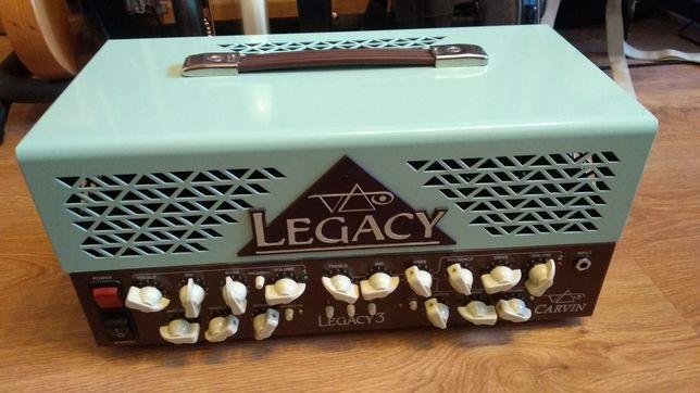 Wzmacniacz gitarowy lampowy Steve Vai Carvin Legacy 3 100W Head
