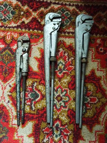 ключ рычажный сантехнический советский