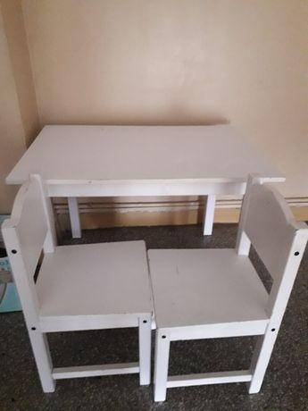 Biurko dla dzieci Ikea Sundvik plus 2 krzesła