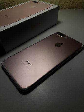 Apple iPhone 7 Plus Rose Gold в идеальном состоянии Neverlok айфон 7+
