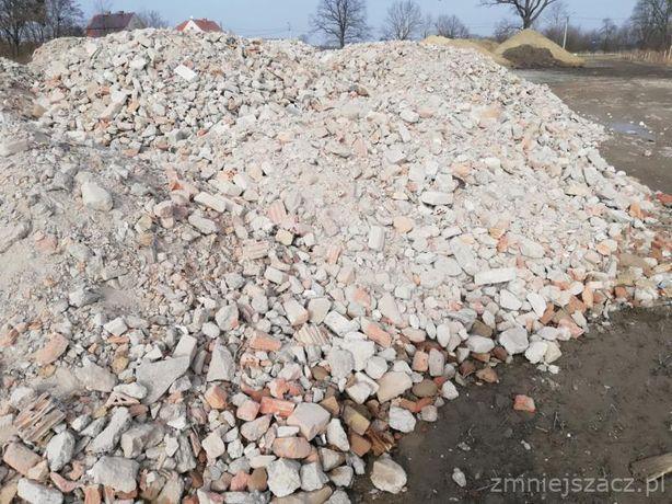 DESTRUKT - 10 zł Gruz ceglany przekruszony kruszywo asfaltowy betonowy
