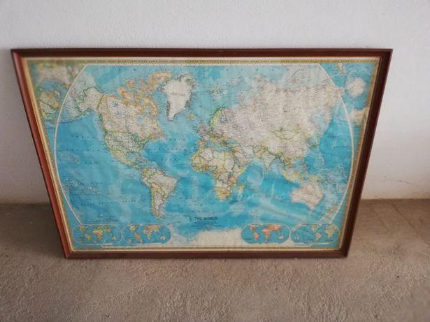 Mapa Mundo National Geographic Society