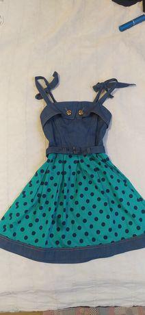 Продам красивый сарафан, платье  для девочки 5-6 лет