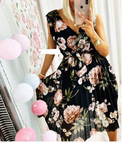 Fantastyczna wizytowa sukienka M/L