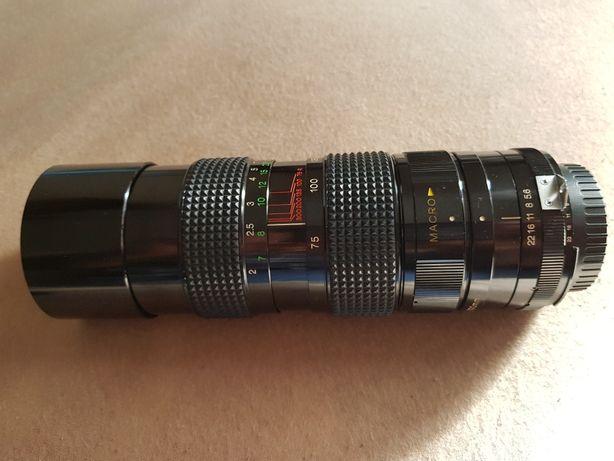 Obiektyw tele ZYKKOR macro 75-300 f 5.6 do Nikona Made in Japan