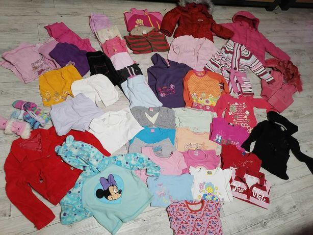 Zestaw ubrań dla dziewczynki 104 116 paka