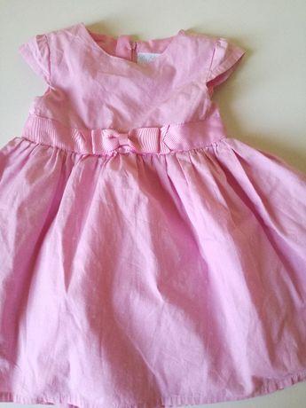 Sukienka różowa rozmiar 86
