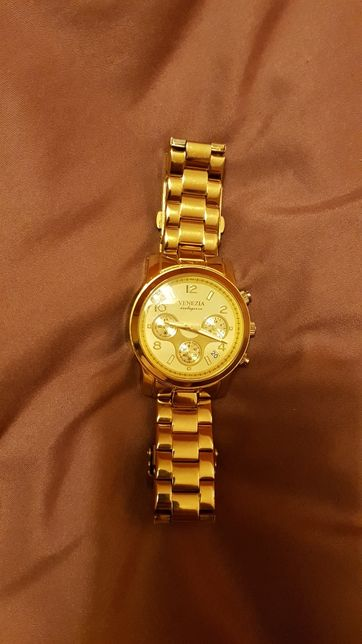 Złoty zegarek Venezia