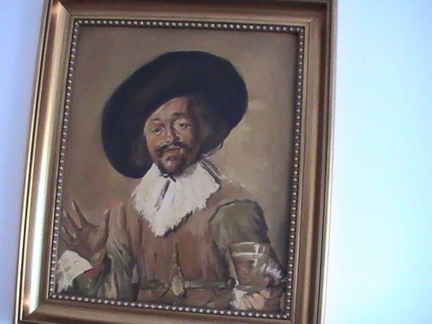 """OBRAZ-reprodukcja Frans Hals """"Wesoły pijak"""""""