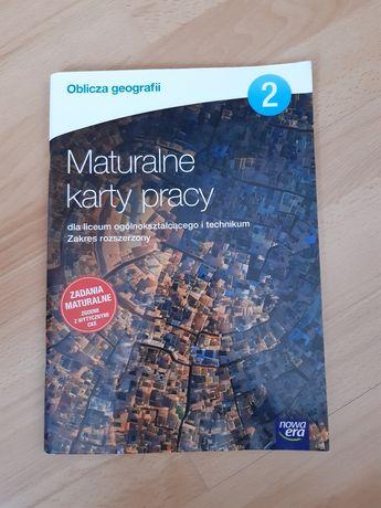 Oblicza geografii Maturalne karty pracy 2