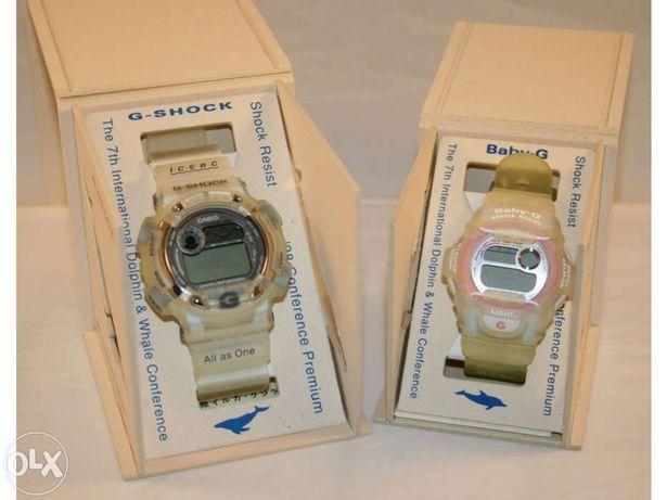 Relógio Casio G-Shock Raros para Colecionadores