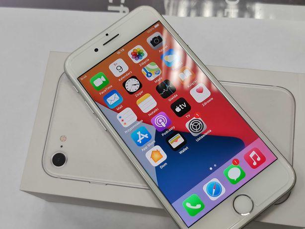 Iphone 8 64GB/ Silver/ 100% oryginalne komponenty/ Gwarancja/ Bat 87%