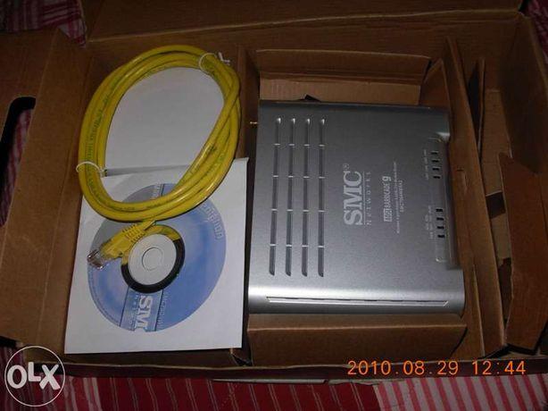 modem router wereless adsl barricade G da SMC