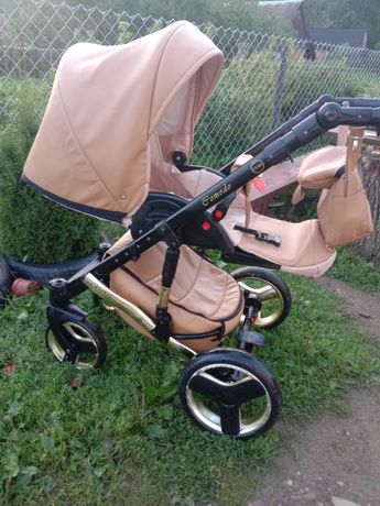 Дитяча коляска 3 в 1 Mikrus Comodo Cold.