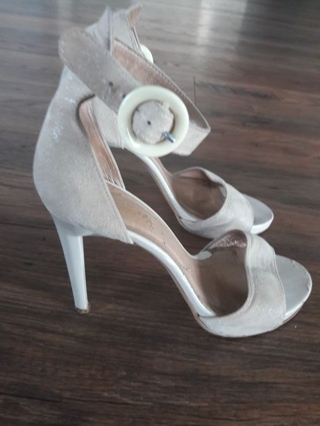 Sandałki skorzane Darex r. 38.5