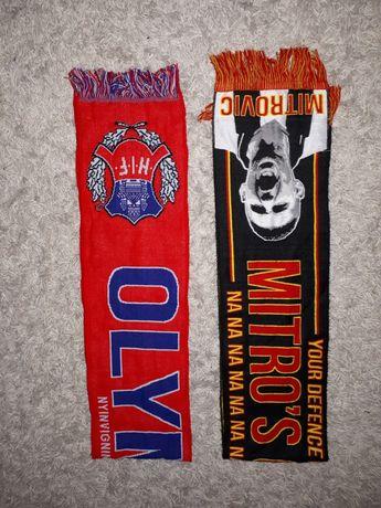 Piłkarskie szaliki szal kolekcjonerski