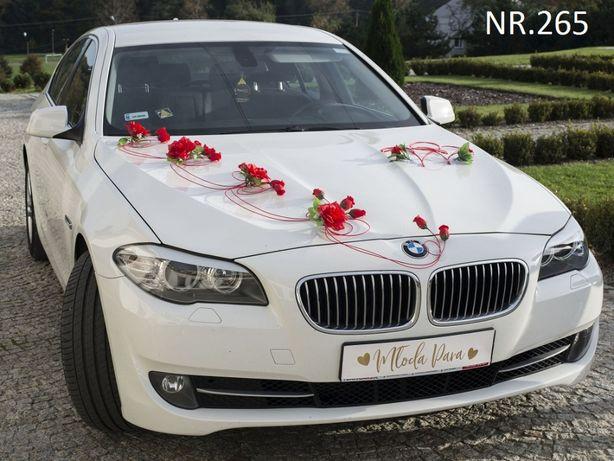 NOWA dekoracja na samochód do ślubu- POLSKI PRODUCENT-ozdoby na auto