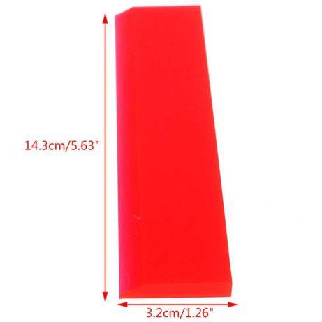 PAP-Espátula silicone e borracha vermelha ESPT14CM