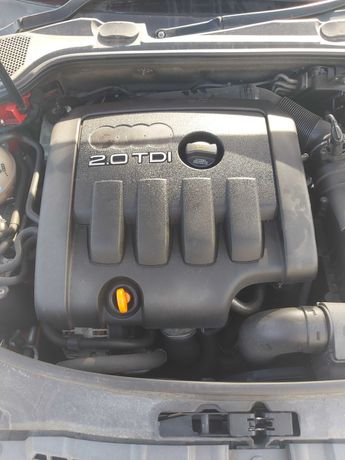 Audi a3 8p sportback 2.0 tdi 140km BKD silnik