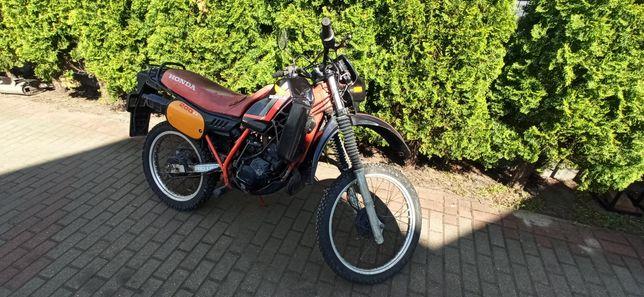 Zamiana Honda MTX 200r 2T 1983