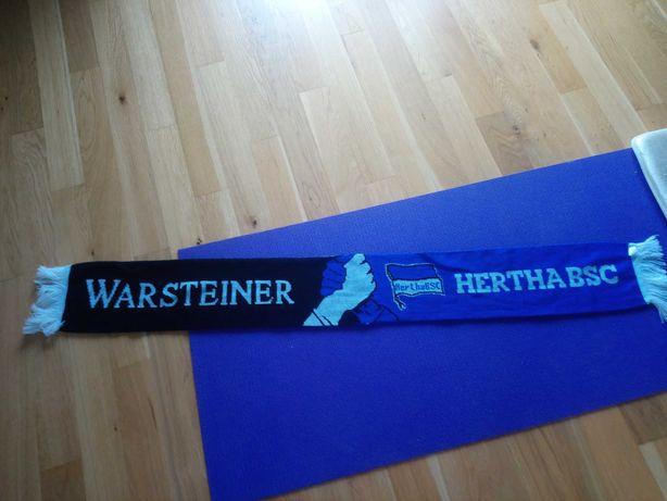 Szalik kibica Warsteiner Hertha Berlin BSC