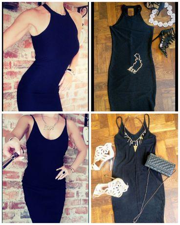 Sukienka sexy gołe plecy 36/38 S/M New Look