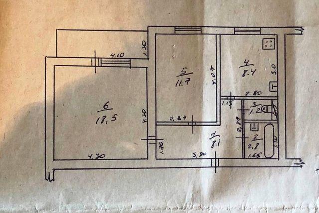 Срочно продам 2 комнатную квартиру Вузовский