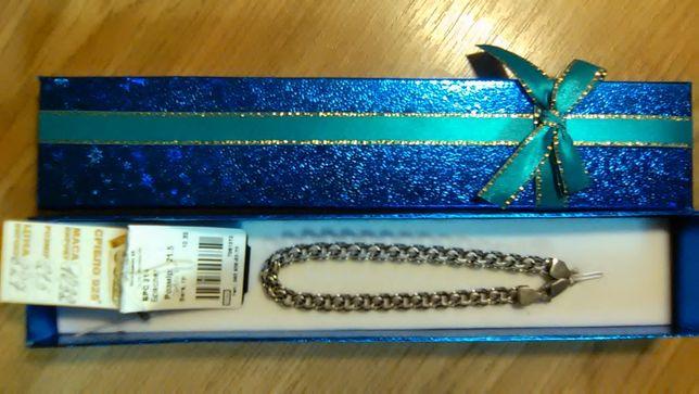 Мужской серебряный браслет 925 (Столичная Ювелирная Фабрика)