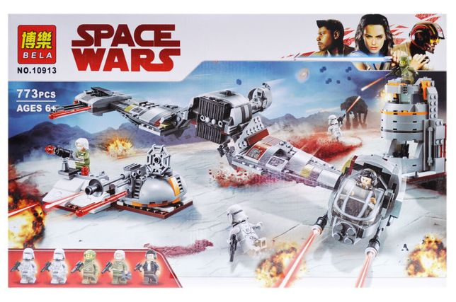 Конструктор bela 10913 Защита Крайта аналог лего Lego Star Wars 75202