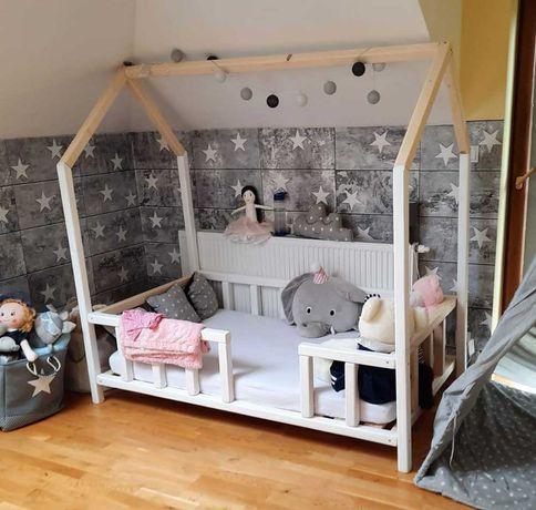 Łóżko Domek Montessori Lite drewno