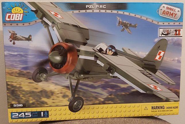 Cobi zestaw 5516 PZL P. 11 C