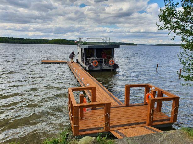 Pomost Pływający Platforma Wyspa Rower wodny molo Pomosty Pływające
