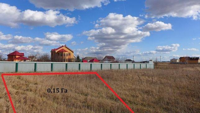 15 соток в c. Петровское, Бориспольского района. Без комиссии!