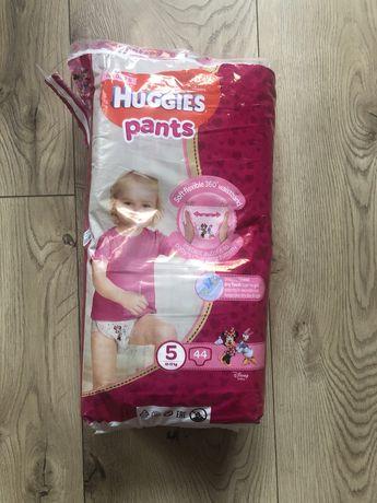 Трусики- подгузники для девочек 5 (12-17 кг) 44шт.