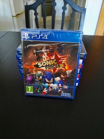 Jogo Sonic Forces Novo/Selado Playstation 4 (PS4)