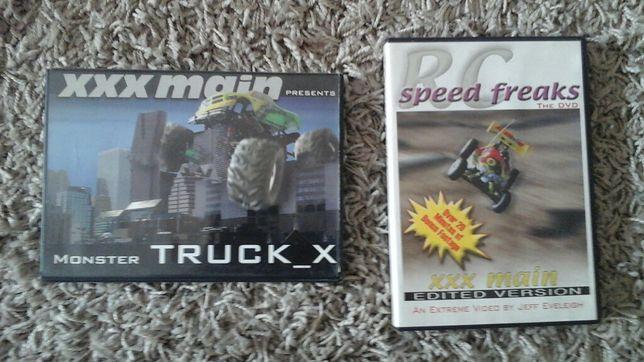 Vendo 2 DVD * XXX Main Monster Truck_X + RC Speed Freaks