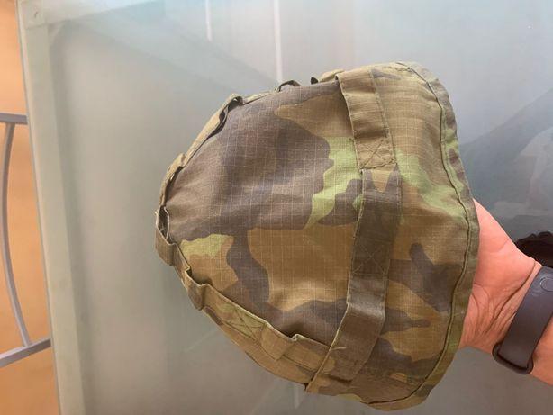 Rede de capacete militar