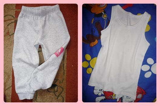 ADIDAS spodniei dziewczynka 2-3 latka r.98+podkoszulka