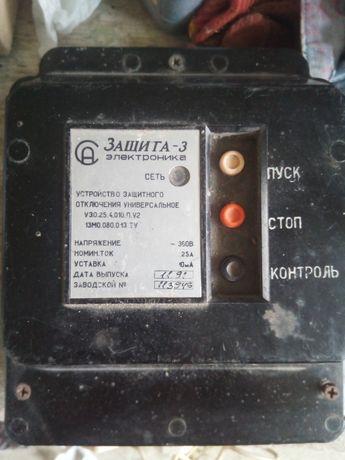 Захист УЗО 380V 25A