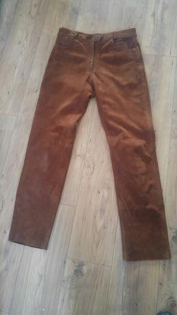 Sprzedam skórzane spodnie motocyklowe Motocorner  rozmiar 46 .