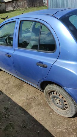 Drzwi LEWE tylne Nissan Micra K12 B33 LIFT 5D Lublin