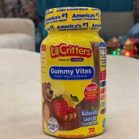 Витамины для детей США  жевательные мармеладки мультивитамины