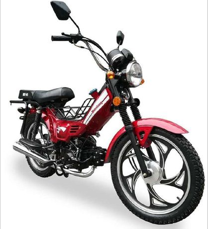 Распродажа СкутерОК Мотоцикл Delta 110cc Red в наличии возможен КредиТ