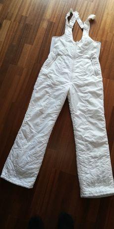 Spodnie narciarskie białe
