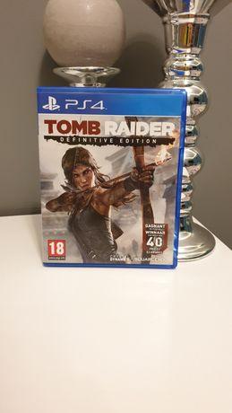 Tomb Raider Definitive Edition gra na konsolę PS4