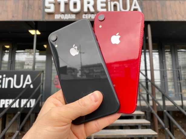 Идеал iPhone XR 64GB Black\Red (64gb\128gb) Гарантия 3 мес от магазина