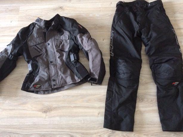 Komplet na motocykl damski- kurtka+spodnie